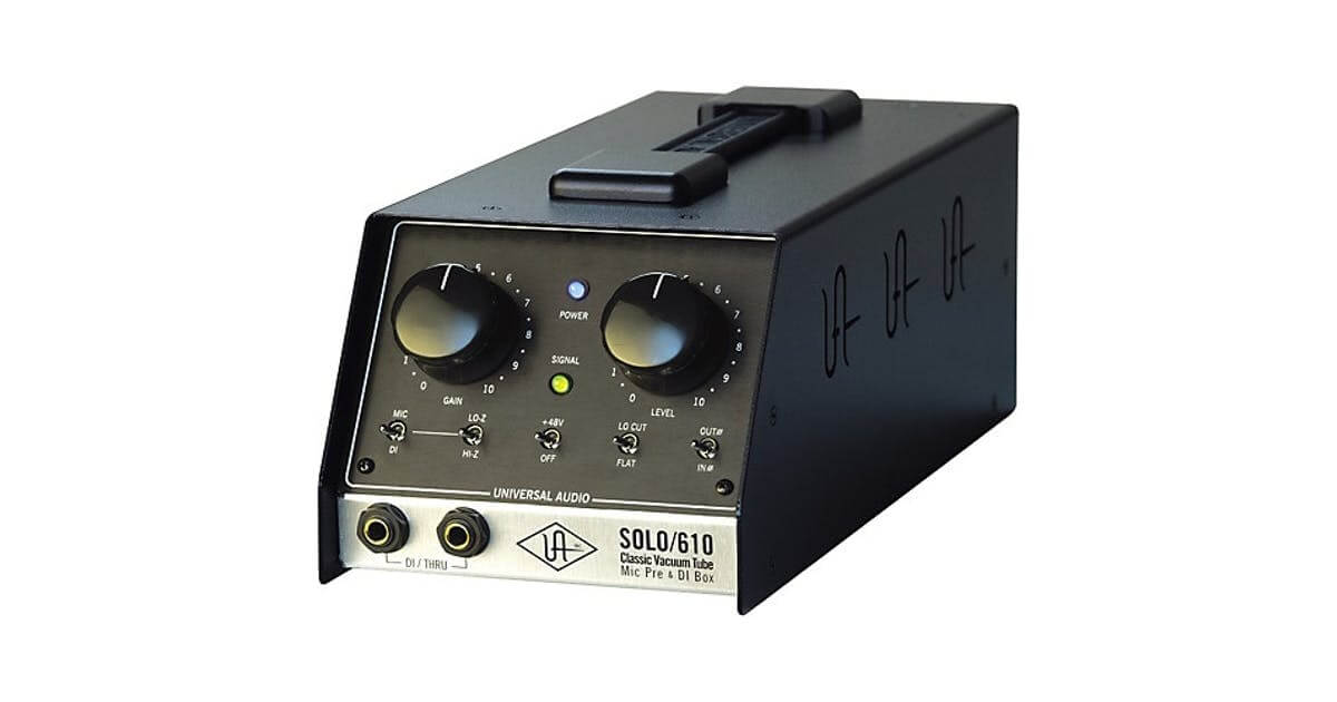 microphone preamp 1