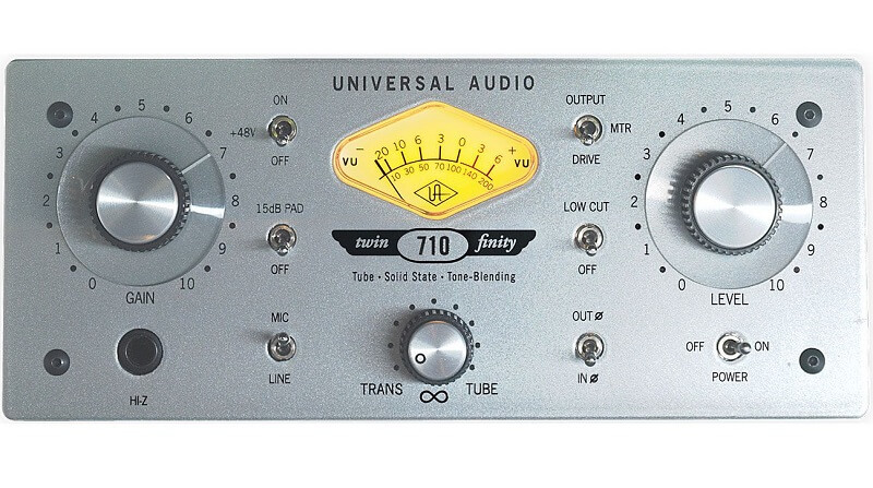 microphone preamps for 710 Twin-Finityvocals