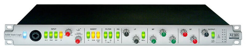 microphone preamps for vocals 4 SSL alpha vhd