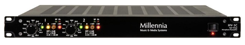 microphone preamps for vocals Millennia HV-3C