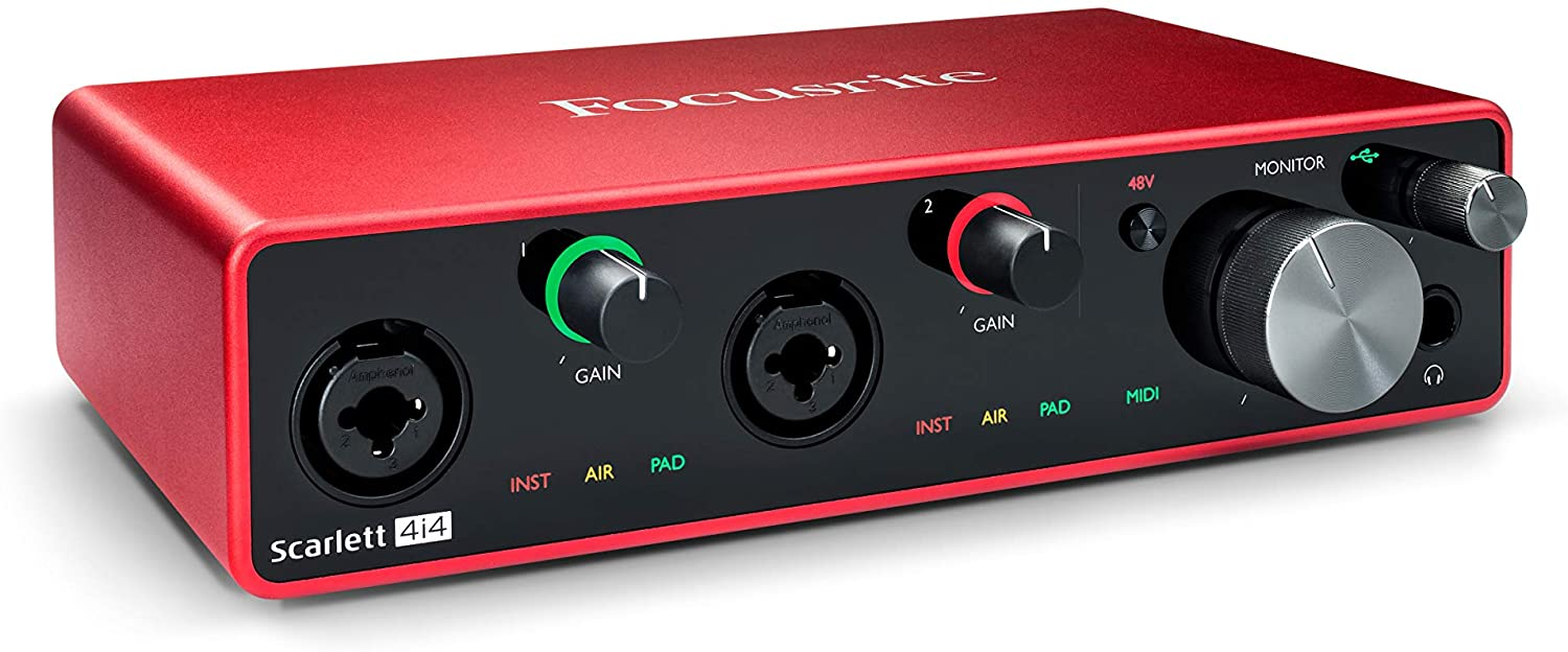 Music Production Gear Scarlet 4i4