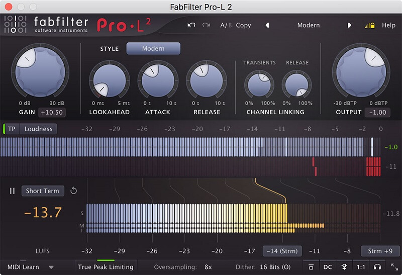 how to mix bass limiter