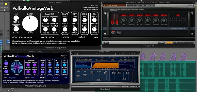 how to mix vocals reverbs