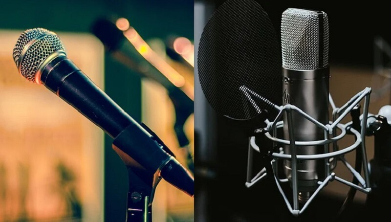 how to record vocals mics
