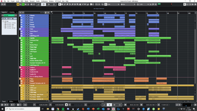 how to start the mix coloring