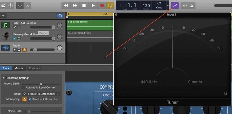 mixing 808 tuning