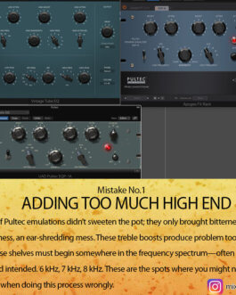 """""""28 Mixing Mistakes"""" – by Mixing Tips"""