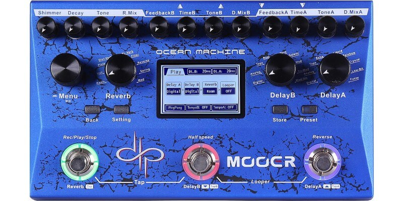 reverb and delay