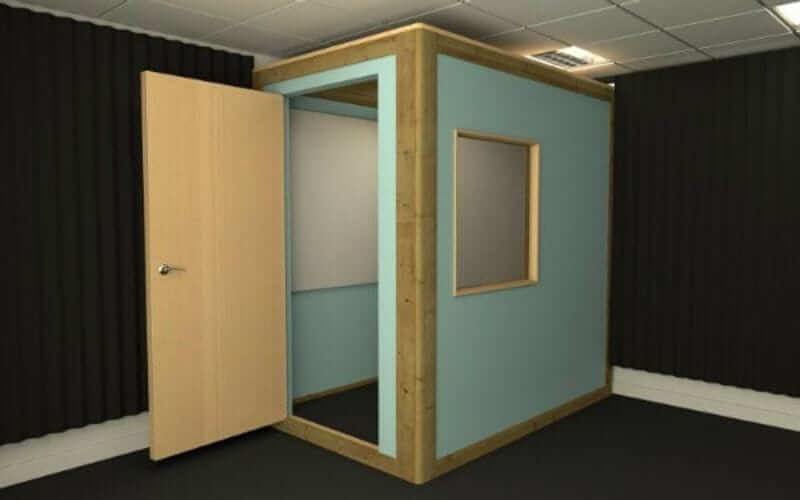 built vocal booth