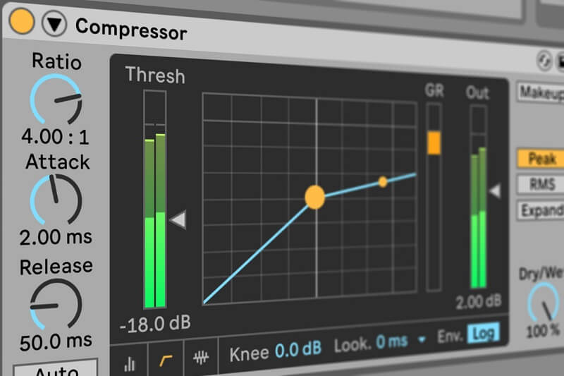 ratio in ableton