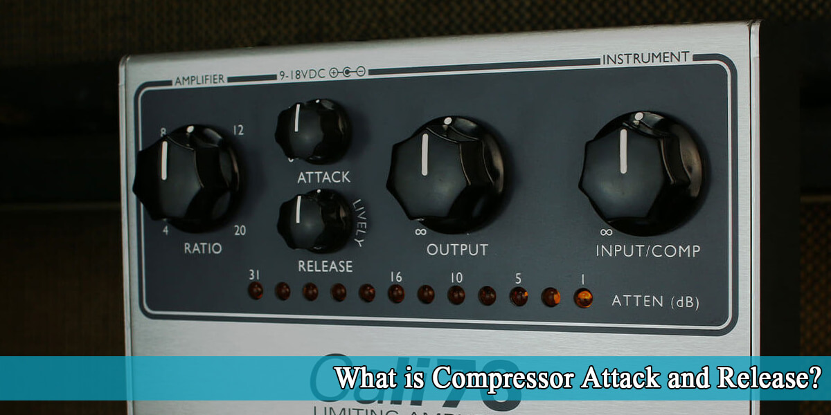what is compressor attack and release