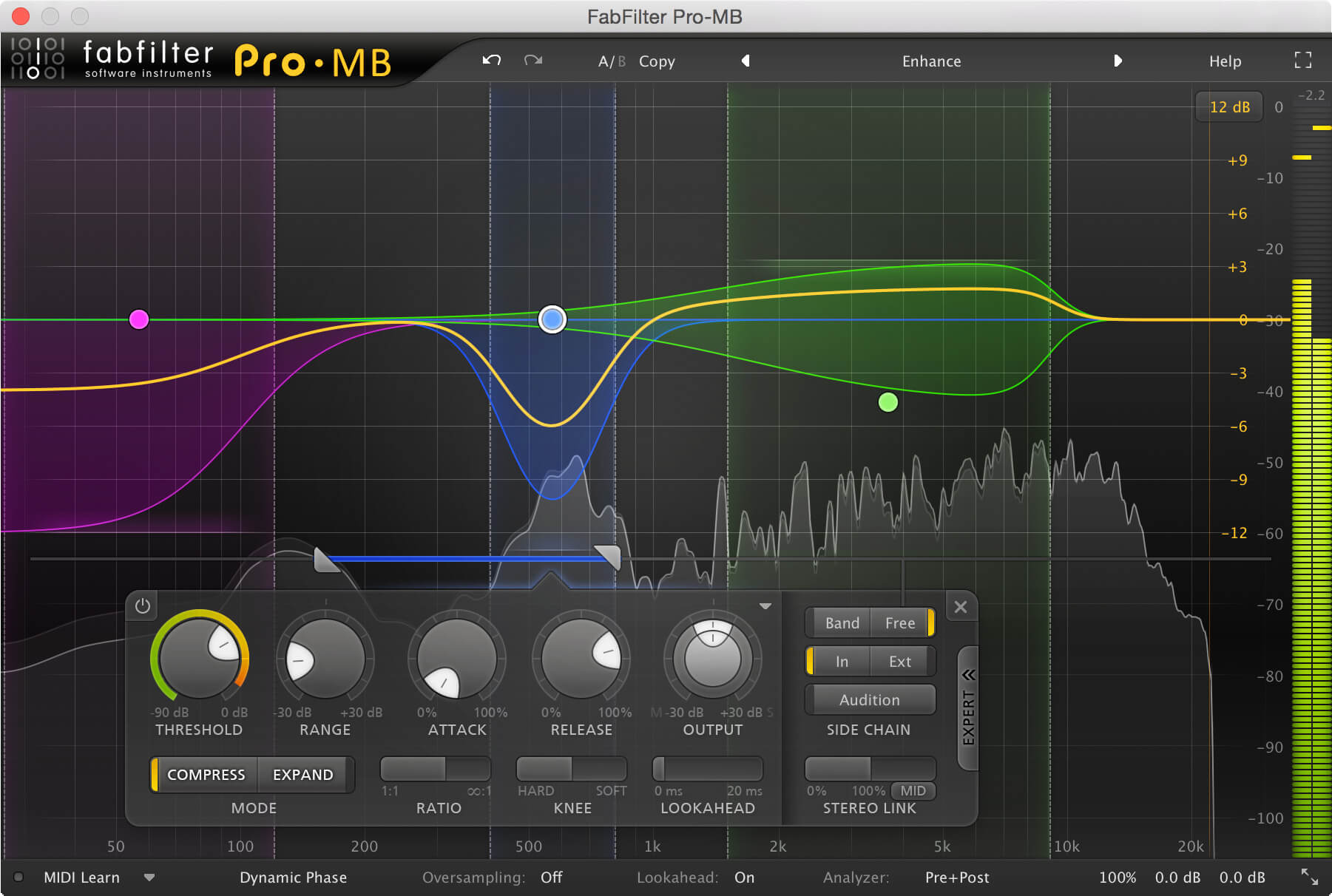 what is multiband compressor