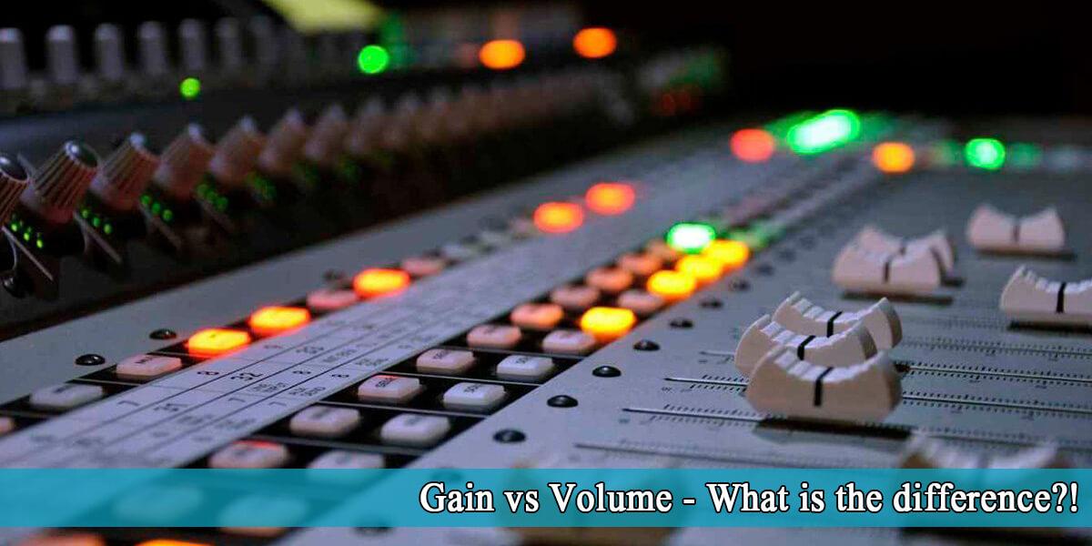 gain vs volume