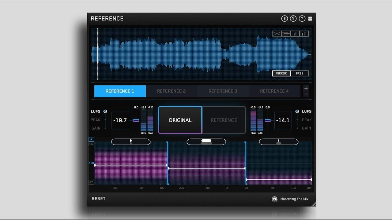 how to use reference track
