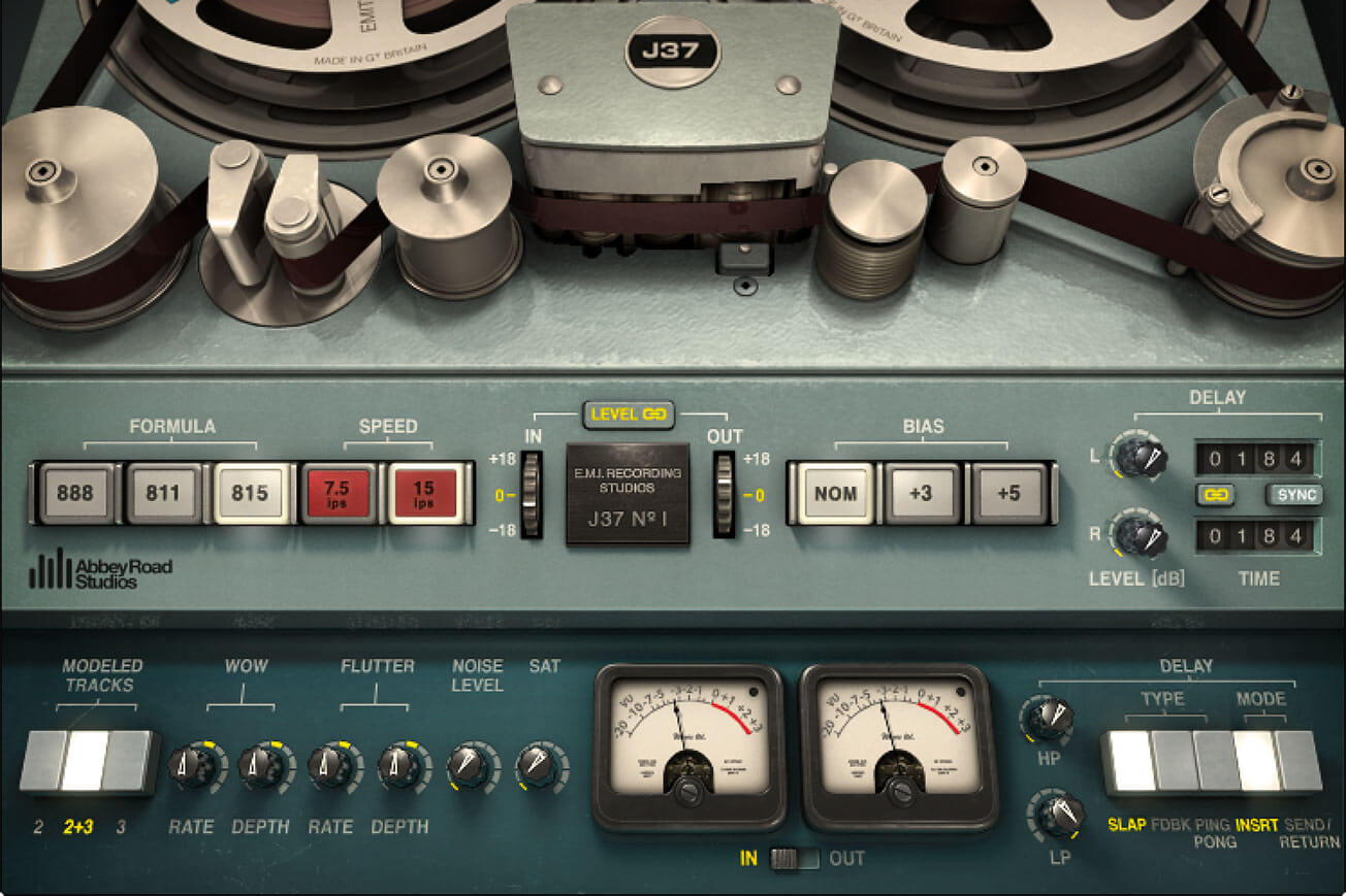 j37 by waves - tape saturation plugin
