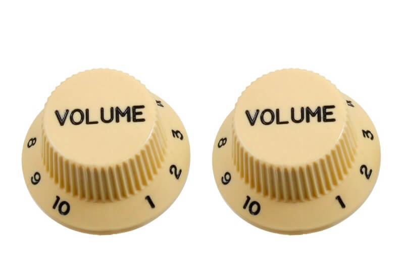 volume knob for volume gain