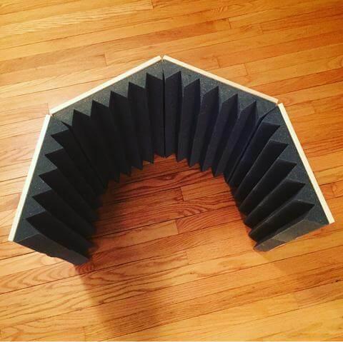 DIY Microphone Isolation Shield 1