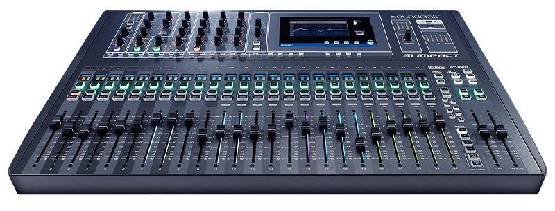 Soundcraft 40-Channel iPad Control Digital Mixer