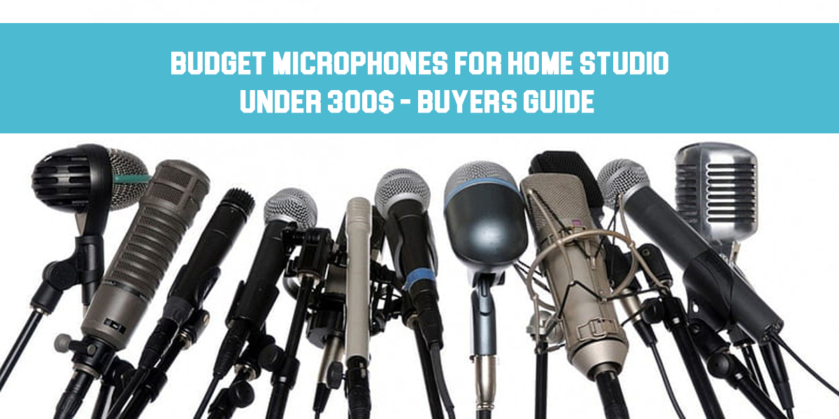 budget microphones for home studio featured
