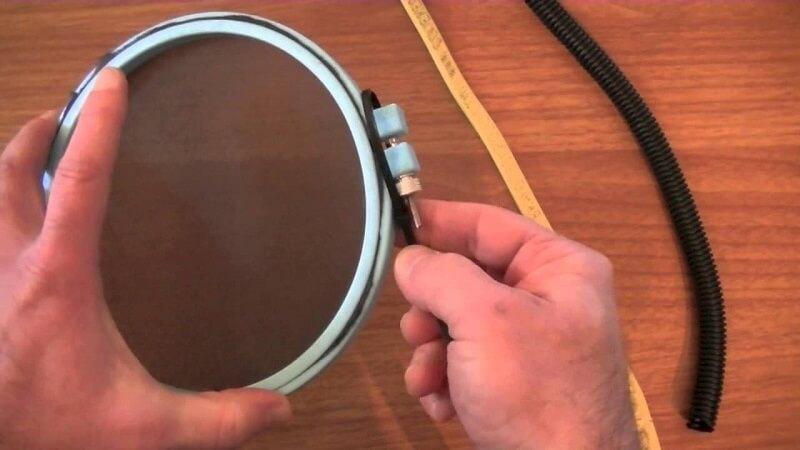Embroidery Hoop Pop Filter