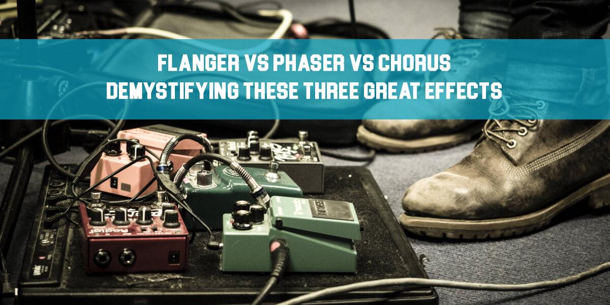 Flanger vs Phaser vs Chorus feat