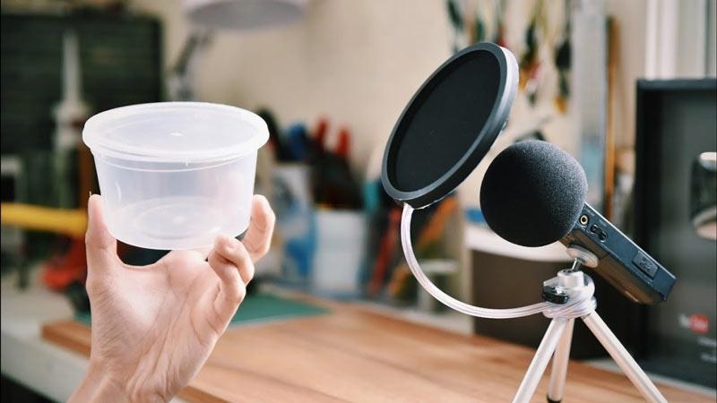 Plastic Cap Pop Filter