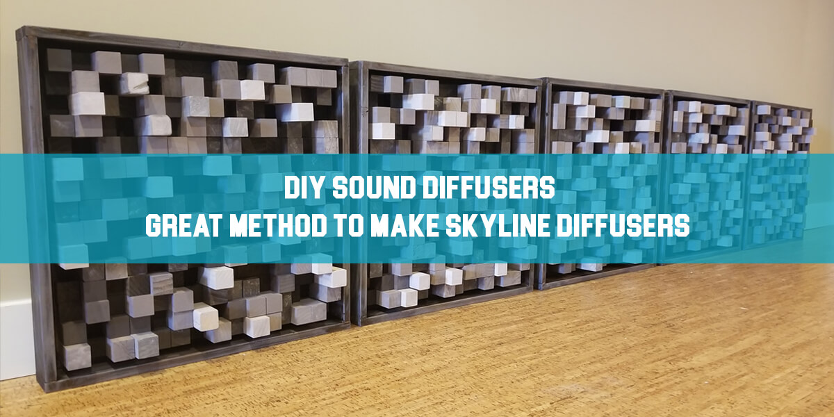 diy sound diffusers feat photo