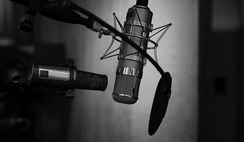 microphone pop filter two microphones