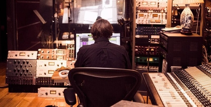 mixing alone