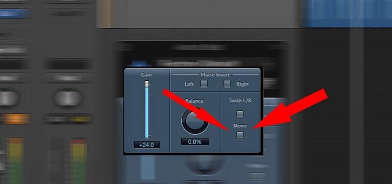 mixing in mono plugin