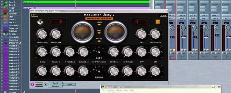 modulating delay mixing tips