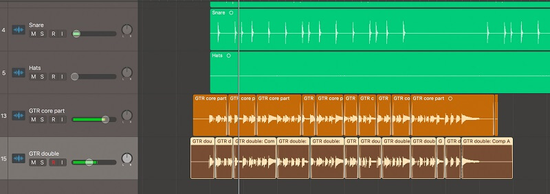 what is double tracking in DAW
