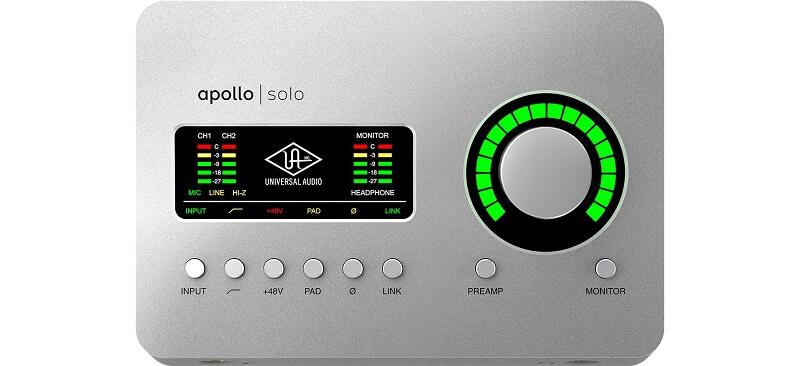 Universal Audio Apollo Solo TB3 Heritage Ed