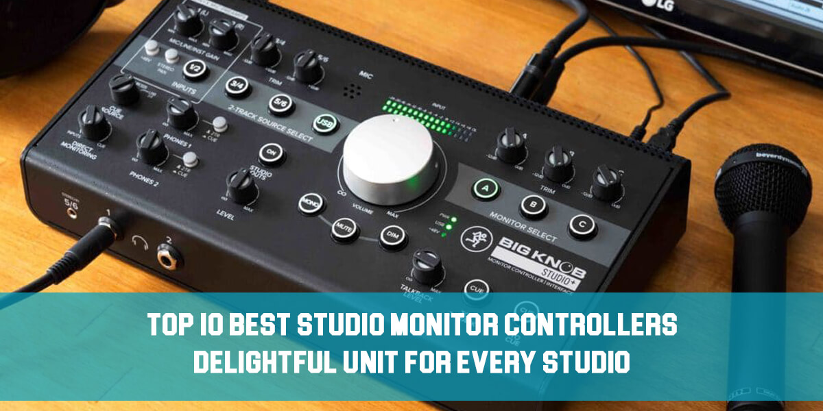 best studio monitor controllers feat